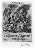 Küsel J. C.-Küsel M. M. (1688-1700), Angelo con chiave incatena il drago