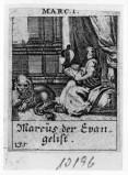 Küsel J. C.-Küsel M. M. (1688-1700), S. Marco Evangelista scrive il vangelo