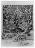 Küsel J. C.-Küsel M. M. (1688-1700), Trono di Dio e la corte celeste