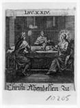Küsel J. C.-Küsel M. M. (1688-1700), Cena in Emmaus