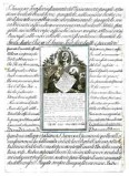 Ambito italiano fine sec. XVIII, S. Francesco d'Assisi benedice fra Leone