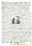 Ambito italiano sec. XVIII-XIX, S. Francesco d'Assisi benedice fra Leone