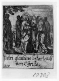 Küsel J. C.-Küsel M. M. (1688-1700), Gesù Cristo consegna le chiavi a S. Pietro