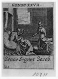 Küsel J. C.-Küsel M. M. (1688-1700), Isacco benedice Giacobbe