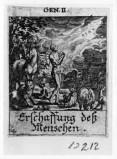Küsel J. C.-Küsel M. M. (1688-1700), Creazione di Adamo