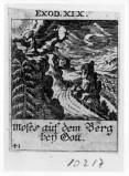 Küsel J. C.-Küsel M. M. (1688-1700), Mosè sul Monte Sinai