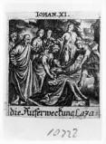 Küsel J. C.-Küsel M. M. (1688-1700), Resurrezione di Lazzaro