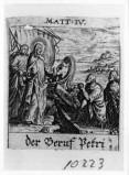 Küsel J. C.-Küsel M. M. (1688-1700), Vocazione di S. Pietro e S. Andrea