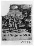 Küsel J. C.-Küsel M. M. (1688-1700), Giacobbe lotta con l'angelo