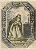 Ambito italiano sec. XVIII, S. Caterina da Siena in preghiera