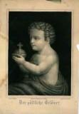 Waage C. sec. XIX, Gesù Bambino redentore