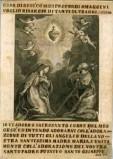 Calcografia Remondini sec. XVIII, Adorazione del Sacro Cuore di Gesù