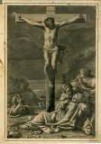 Gomier L. sec. XVIII, Crocifisso e devoti