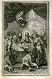 Ambito italiano sec. XVII, Ultima cena