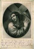 Ambito italiano sec. XIX, Gesù Cristo porta la croce