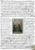 Stamperia Mayer C. sec. XIX, S. Francesco d'Assisi e santo gesuita