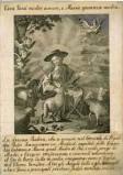Merlo M. seconda metà sec. XVIII, Madonna divina pastora