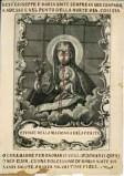 Calcografia Remondini sec. XVIII, Madonna della ferita con Gesù Bambino