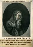 Ambito italiano sec. XIX, Vergine addolorata