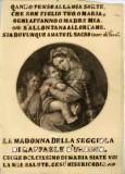 Ambito italiano sec. XIX, Madonna con Gesù Bambino e S. Giovannino