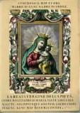 Ambito italiano sec. XVIII, Madonna con Gesù Bambino