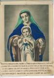 Tipografia Wentzel sec. XIX, Madonna e Sacro Cuore di Gesù