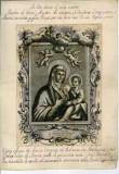 Ambito italiano seconda metà sec. XVIII, Madonna di S. Luca con Gesù Bambino