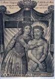 Ambito italiano sec. XIX, Madonna sostiene Gesù Cristo morto