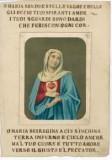 Ambito italiano sec. XIX, Sacro Cuore di Maria