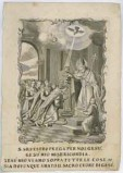 Calcografia Remondini sec. XVIII, S. Gregorio battezza il re Tiridate