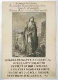 Ambito italiano sec. XVIII, S. Barbara