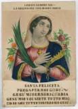 Calcografia Briola P. seconda metà sec. XIX, Santa martire