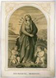 Tipografia Zippel e Godermaier sec. XIX, Madonna addolorata