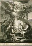 Calcografia Remondini seconda metà sec. XVIII, Adorazione dei pastori