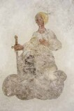 Ambito trentino sec. XVII, S. Caterina d'Alessandria