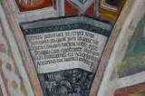 Baschenis C. (1496), Iscrizione a destra