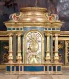 Bottega trentina sec. XVIII, Tabernacolo architettonico