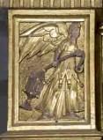 Attribuito a Lenner S. (1618-1627), Angelo con turibolo 1/2