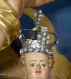 Bottega trentina sec. XVIII-XIX (?), Corona di Gesù Bambino
