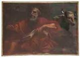 Ambito fiemmese prima metà sec. XVIII, S. Luca Evangelista