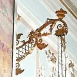 Bottega trentina sec. XVIII-XIX, Braccio di ampada da parete 1/2