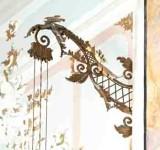 Bottega trentina sec. XVIII-XIX, Braccio di ampada da parete 2/2