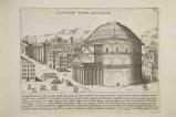 Lauro G. (1628), Veduta del Panteon a Roma