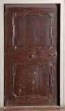 Bottega trentina sec. XVIII, Porta con cornici mistilinee