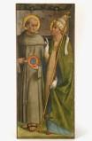Agostini G.A. secc. XVI-XVII, S. Bernardino e Santo papa