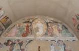 Ambito veneto inizio sec. XV, Cristo Deesis e gli apostoli