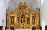 Agostini G.A. (1604), Ancona in legno intagliato dorato