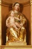 Bottega gardenese sec XX, Madonna col Bambino