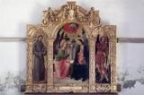 Vivarini A. metà sec. XV, Trittico dell'Annunciazione e Santi