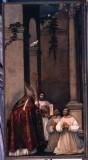 Vecellio F. sec. XVI, Sant' Agostino concede le regole ai monaci